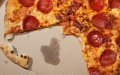 Photo: Drug smugglers used pizza to hide cannabis shipment