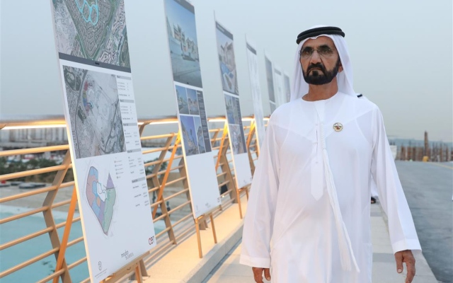 Mohammed bin Rashid tours District One of MBRC