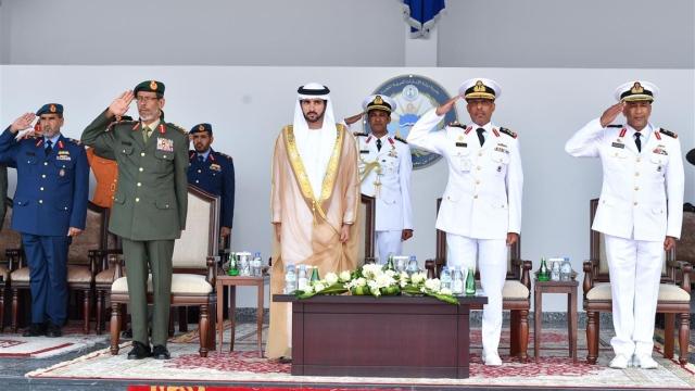 Dubai Crown Prince attends 17th graduation ceremony of Rashid Bin Saeed Al Maktoum Naval College