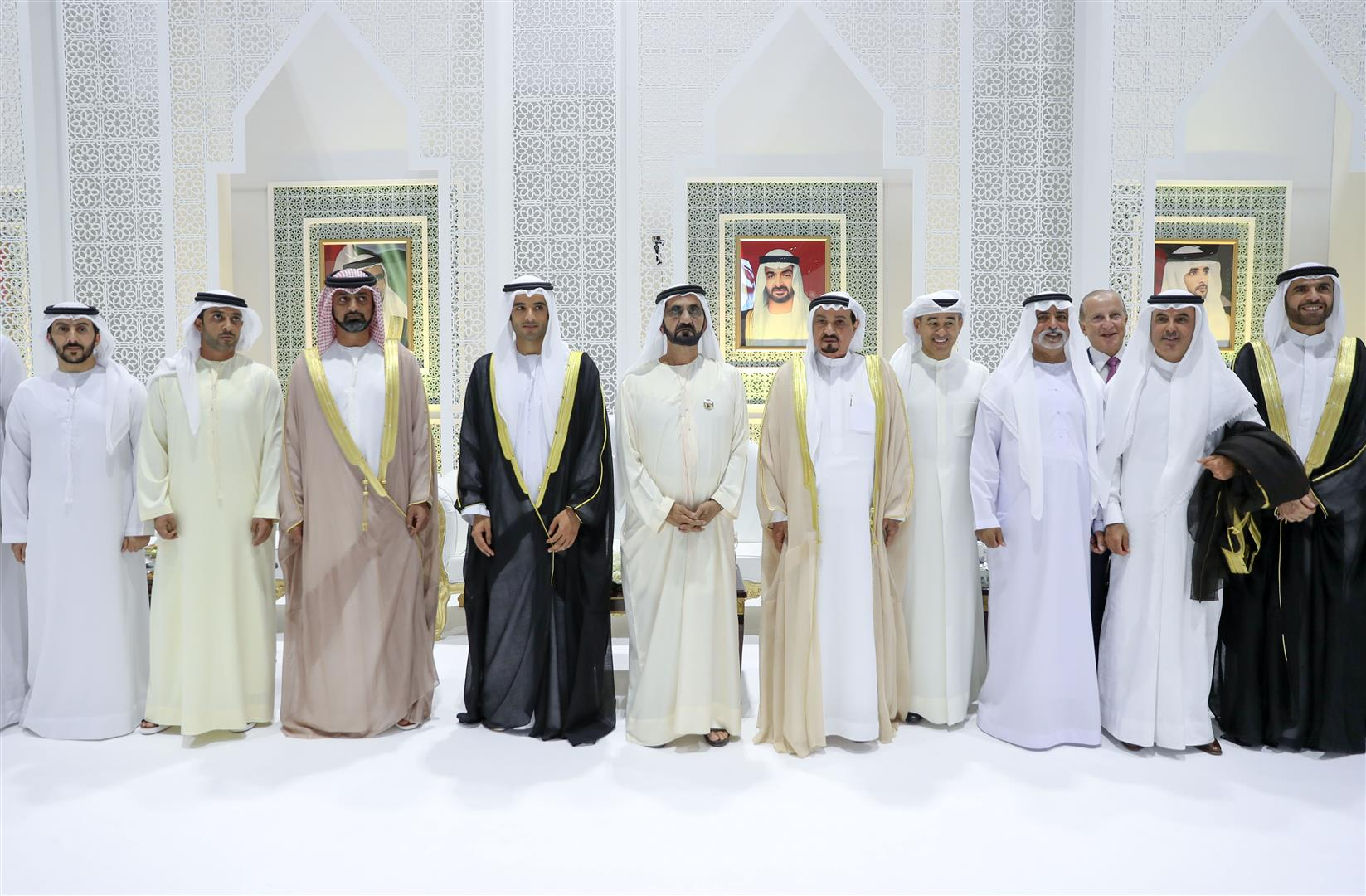 VP, Mohamed bin Zayed and Rulers attend Al Abbar and Al