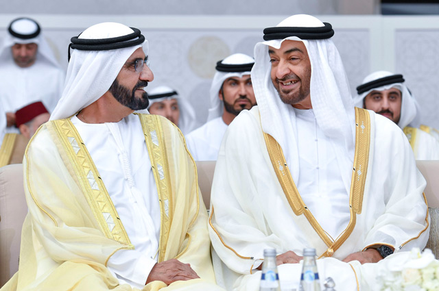 Mohammed Bin Rashid Mohamed Bin Zayed Rulers And Crown Princes Attend Wedding Of Zayed Bin Hamdan Bin Zayed News Government Emirates24 7