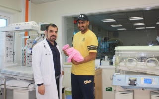 UAE's miracle birth: 600g baby doing well