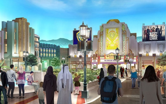 Revealed: first look of Warner Bros theme park in Abu Dhabi