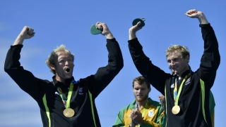 الصورة: Kiwi dual Olympic rowing champion Murray retires