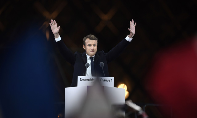 French president-elect Emmanuel Macron. (AFP)
