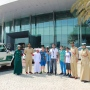 Dubai Police takes 5 kids on a ride in supercars