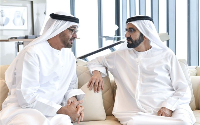 UAE VP and Abu Dhabi Crown Prince discuss strengthening national security