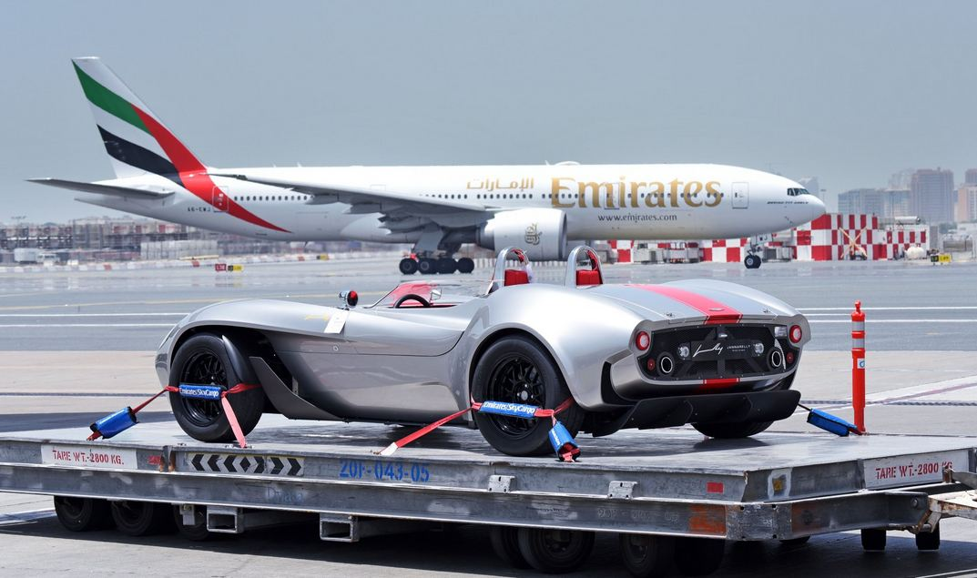 First car made in UAE sent to France - Emirates24|7