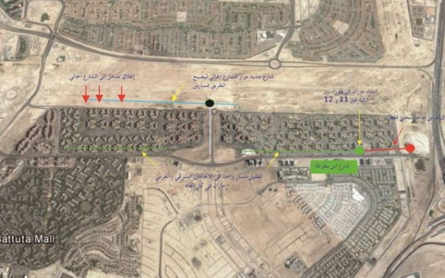 RTA introduces new traffic changes to Ibn Battuta Street