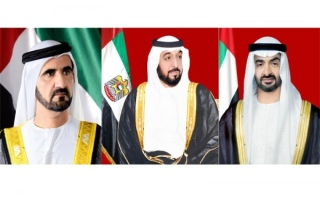 UAE leadership extends Eid al-Fitr greetings to Arab and Muslim leaders