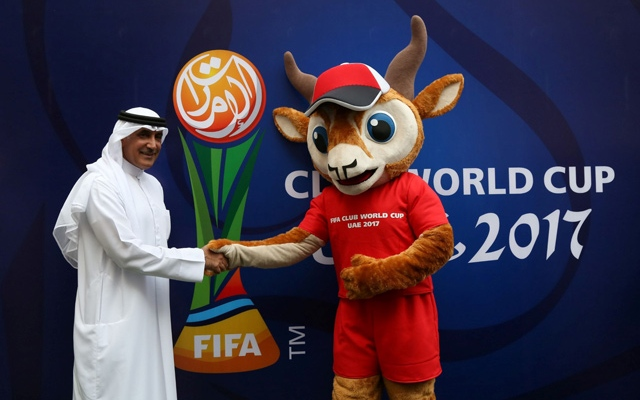 Official mascot of FIFA Club World Cup UAE 2017 unveiled