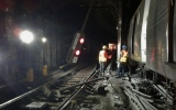 Photo: Dozens injured in NY subway train derailment