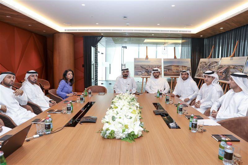 Sheikh Mohammed unveils Dh5 5bn Dubai Food Park at Dubai