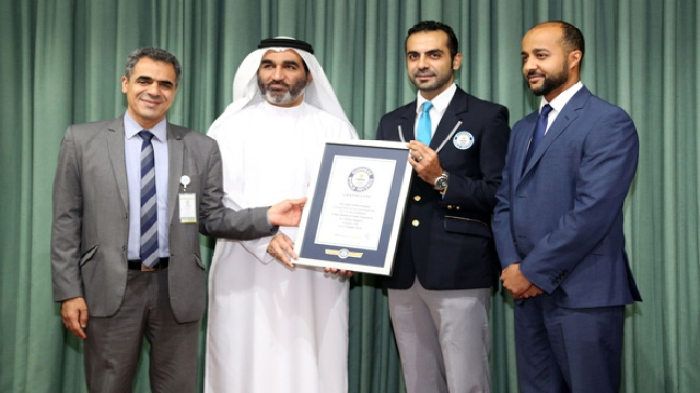 Dubai Hospital receives Guinness World Record for removing world's largest kidney