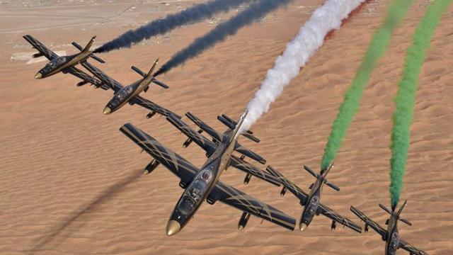 Fursan Al Emarat participates in MAKS-2017 air show in Russia