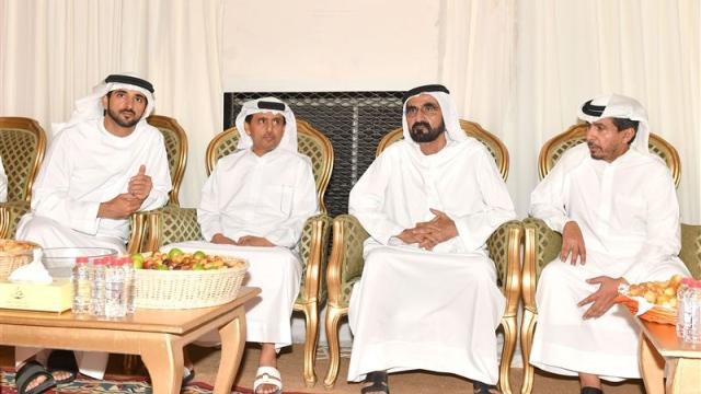 Mohammed bin Rashid offer condolences on death of Saeed Al Ameri