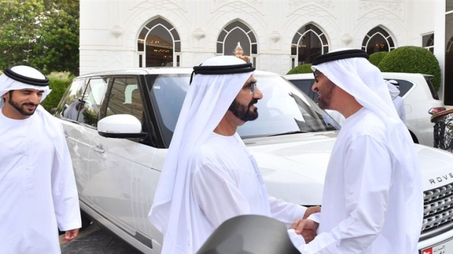 Mohammed bin Rashid meets Abu Dhabi Crown Prince