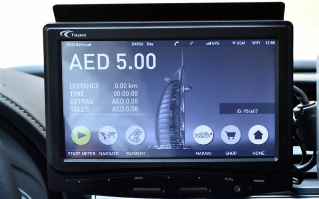 RTA starts installation of smart taximeters costing AED69million