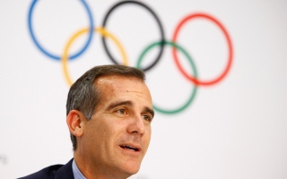 Photo: Paris 2024 Olympics nearly assured as Los Angeles agrees to 2028 Games