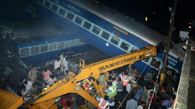 At least 23 dead, dozens hurt as train derails in India