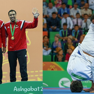 Photo: UAE Jujitsu Team scoops 7 medals in 5th Asian Indoor Games