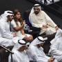 Mohammed bin Rashid attends 'La Perle' show at Al Habtoor City