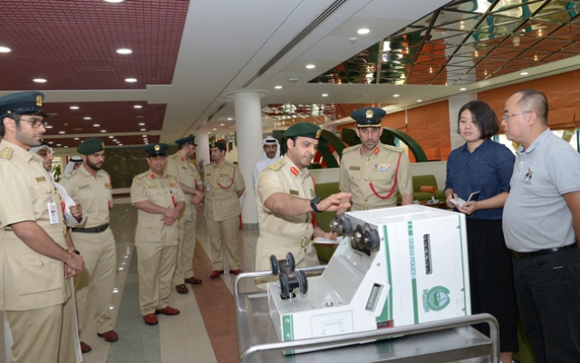 Dubai Police launch 'Smart Controller' device to maintain road security