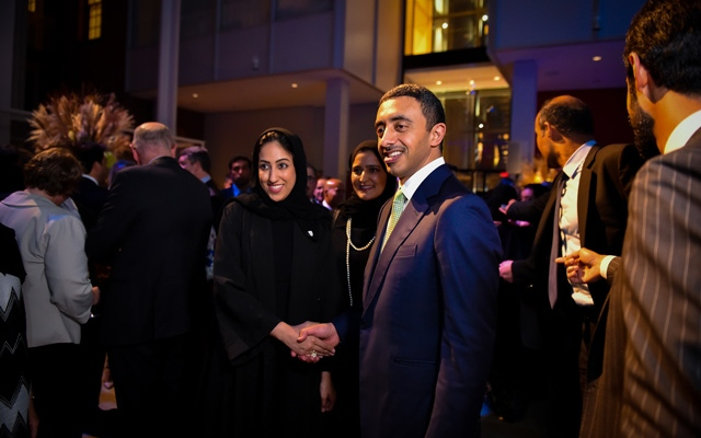 Abdullah bin Zayed hosts reception on sidelines of 72nd session of UN General Assembly