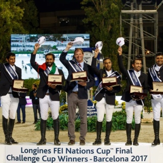 Photo: UAE wins Longines FEI Nations Challenge Cup in first global appearance