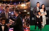 Photo: Ronaldo FIFA player of year, joins Messi as 5-time winner