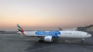 Photo: Emirates unveils aircraft with new Expo 2020 Dubai livery