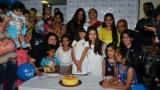 Photo: Aishwarya Rai celebrates her late father Krishnaraj's birthday with NGO Smile Train