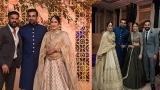 Photo: Sagarika Ghatge and Zaheer Khan reception: Anushka Sharma, Virat Kohli...