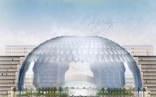 Photo: Expo 2020 Dubai awards steel work contract for dome of Al Wasl Plaza