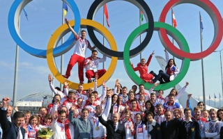 Photo: Russia awaits decision on Winter Olympics ban for doping