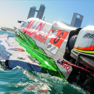 Photo: Team Abu Dhabi's Formula 1 Powerboat World Championship title represents ongoing sporting success: Nahyan bin Zayed