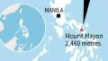 الصورة: 12,000 flee as Philippines warns of volcano eruption