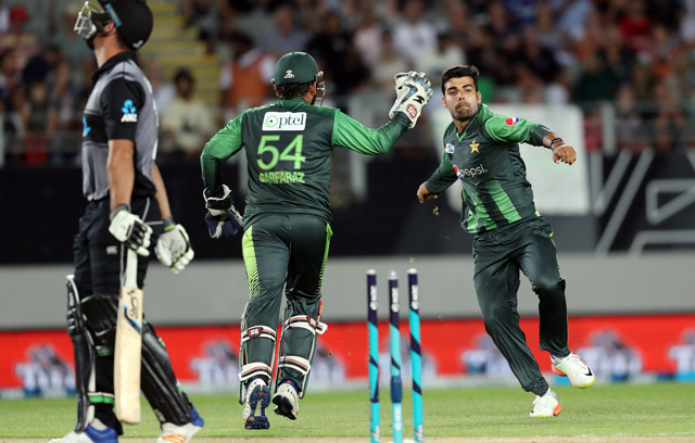 Pakistan Finally Overcome Blacks Caps With T20 Win