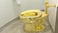 الصورة: Guggenheim offered Trumps a gold toilet in lieu of a Van Gogh