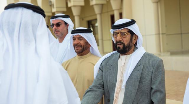 Tahnoun Bin Mohammed Receive Mourners On Death Of Sheikha Hessa Bint Mohammed News Government Emirates24 7