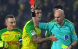 Photo: French referee who kicked player banned for three months