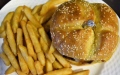الصورة: Six-year-old burger for sale