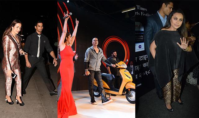 Spotted: Rani Mukerji, Akshay Kumar, Jacqueline Fernandez...
