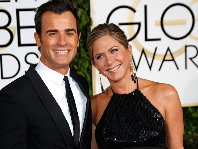 Jennifer Aniston And Justin Theroux Wedding.Jennifer Aniston And Justin Theroux Split House During Marriage