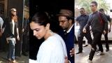Photo: Sridevi death: Madhuri Dixit, Karan Johar, Deepika Padukone visit Anil Kapoor's residence