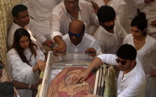 Photo: Video: Final glimpse of Sridevi before her last rites
