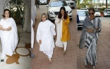 Photo: Shammi's prayer meet: Aishwarya Rai, Jaya Bachchan, Dimple Kapadia...