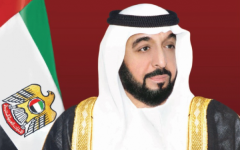 Photo: Khalifa bin Zayed re-elected President of UAE