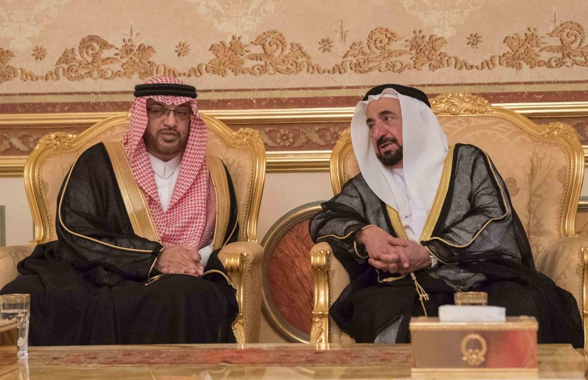 Sharjah Ruler receives more condolences on death of Sheikh Ahmed Al