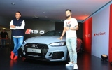 Photo: Virat Kohli launches the second generation Audi R5 coupe in India